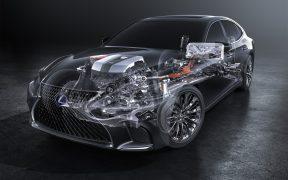 Jak działa napęd flagowych hybryd Lexusa?